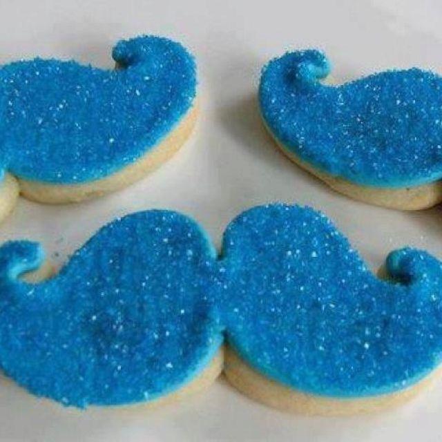 Mustache. Cookies.