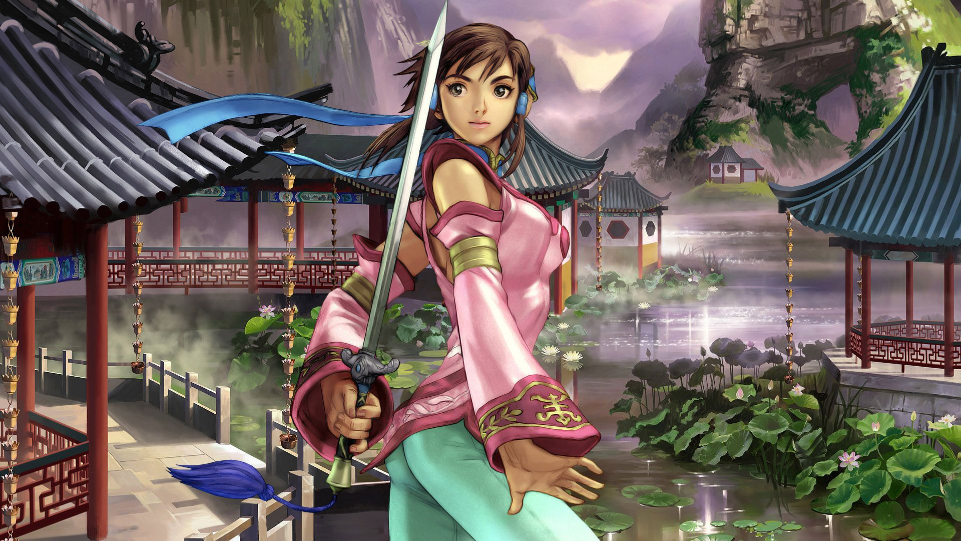 Xianghua From Soulcalibur In The Ga Hq Video Game Character Db