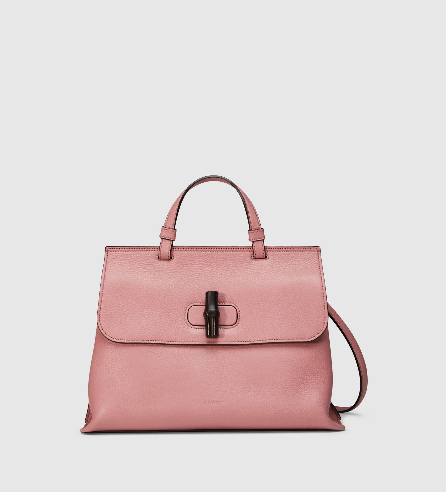 Bamboo Daily Leather Top Handle Bag   Gucci Loves   Gucci, Bags ... f4b50921624