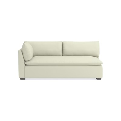 Phenomenal Laguna Sectional Left One Arm Loveseat 22 Depth Standard Pabps2019 Chair Design Images Pabps2019Com