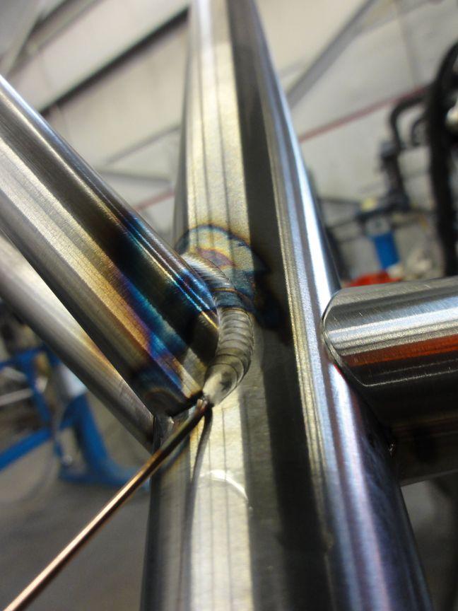 Seatstay TIG welding-seatstay-welding-4.jpg   DIY Bike   Pinterest ...
