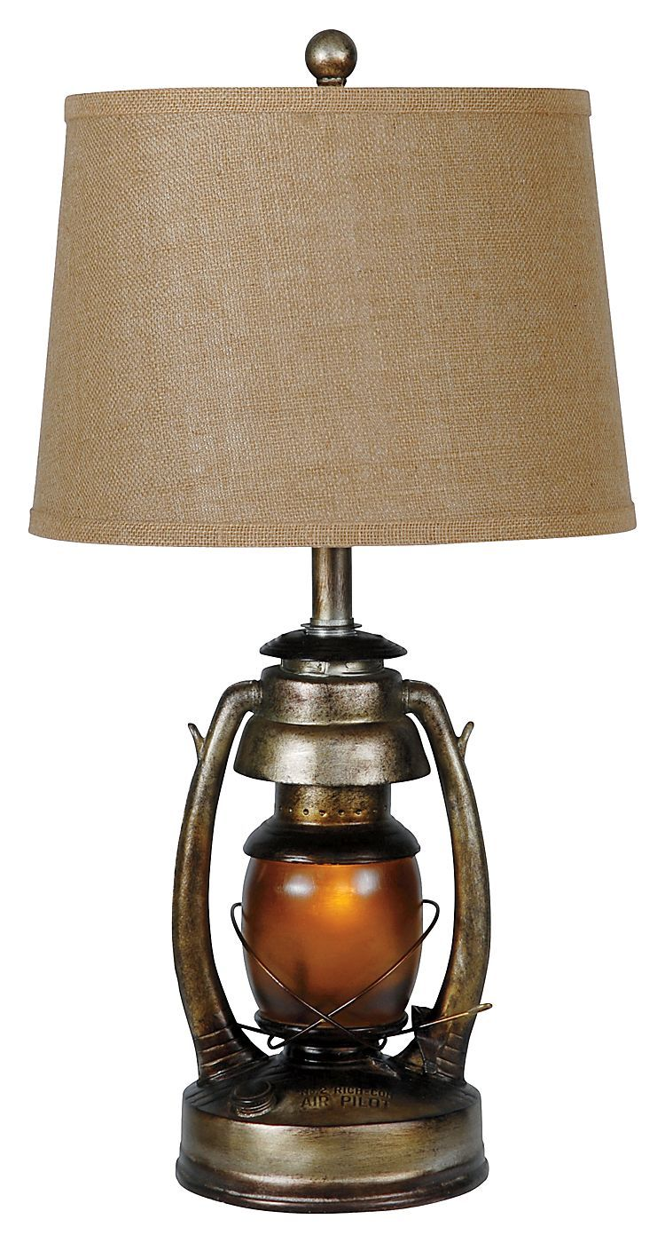 Oil Lantern Table Lamp | Bass Pro Shops | want for new ...