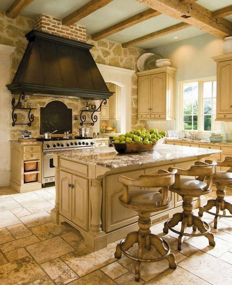 57 amazing french country kitchen design and decor ideas page 45 of 58 in 2020 french on kitchen remodel french country id=70388