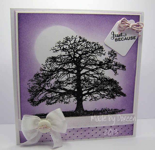Doreens dream the majestic oak trees and leafs cards pinterest hello to you all for my card share today i have used a sheena douglass stamp this is called majestic oak m4hsunfo