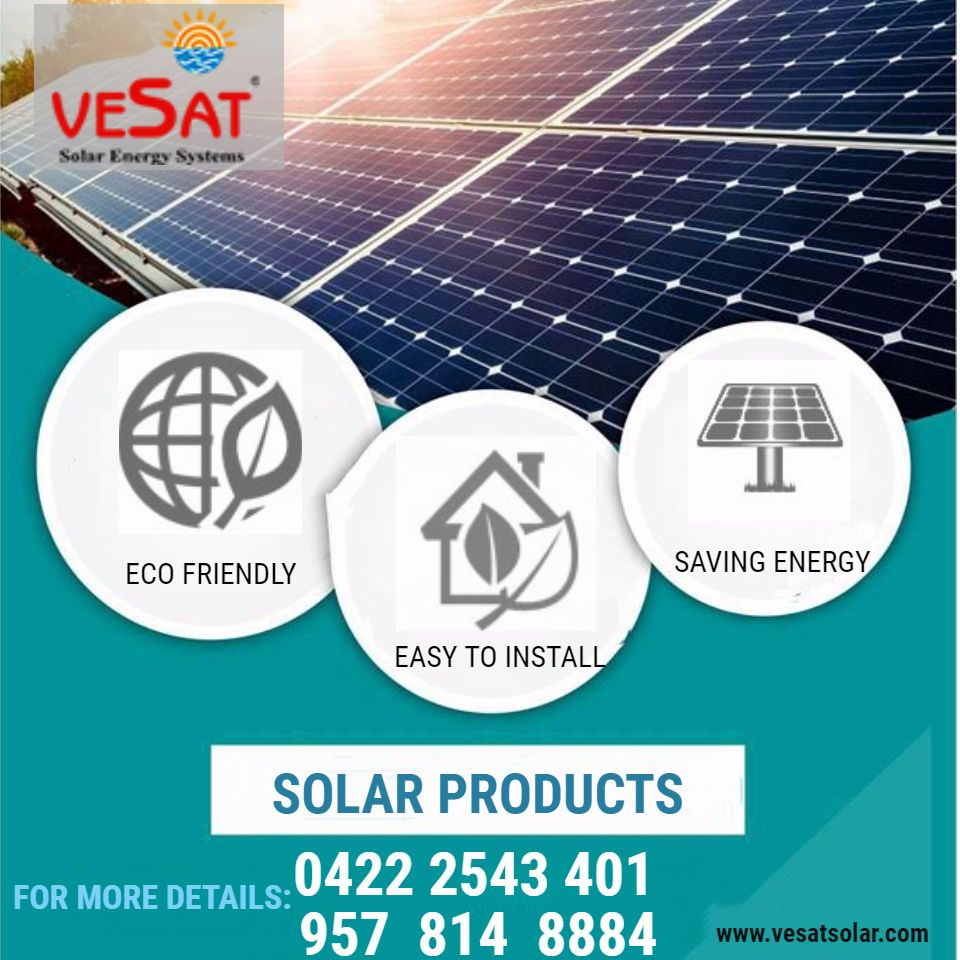 Vesat Renewables Private Limited In 2020 Solar Companies Solar Thermal Energy