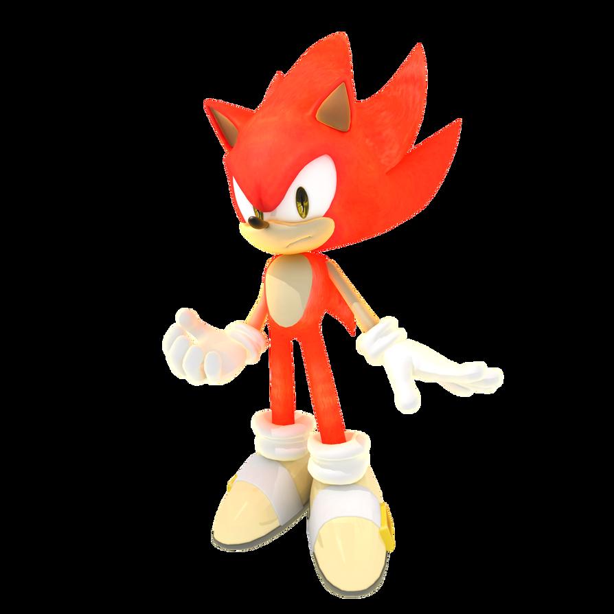 Fire Sonic By Magic Mix Sonic Sonic The Hedgehog Sonic Art