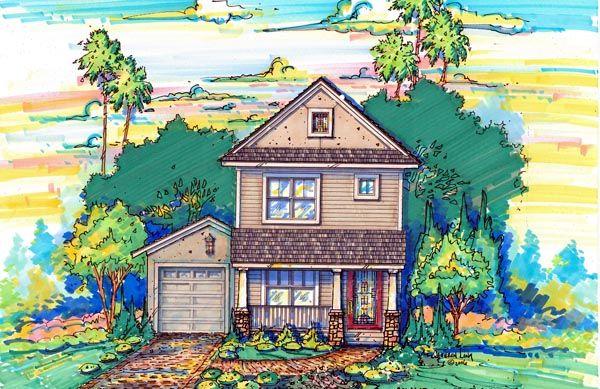 House Plan chp-36459 at COOLhouseplans.com