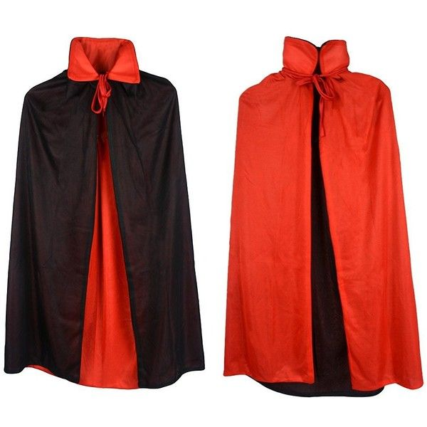 """54/"""" Fully Lined Deluxe Adult Black Cape ~ HALLOWEEN VAMPIRE SUPERHERO MAGICIAN"""