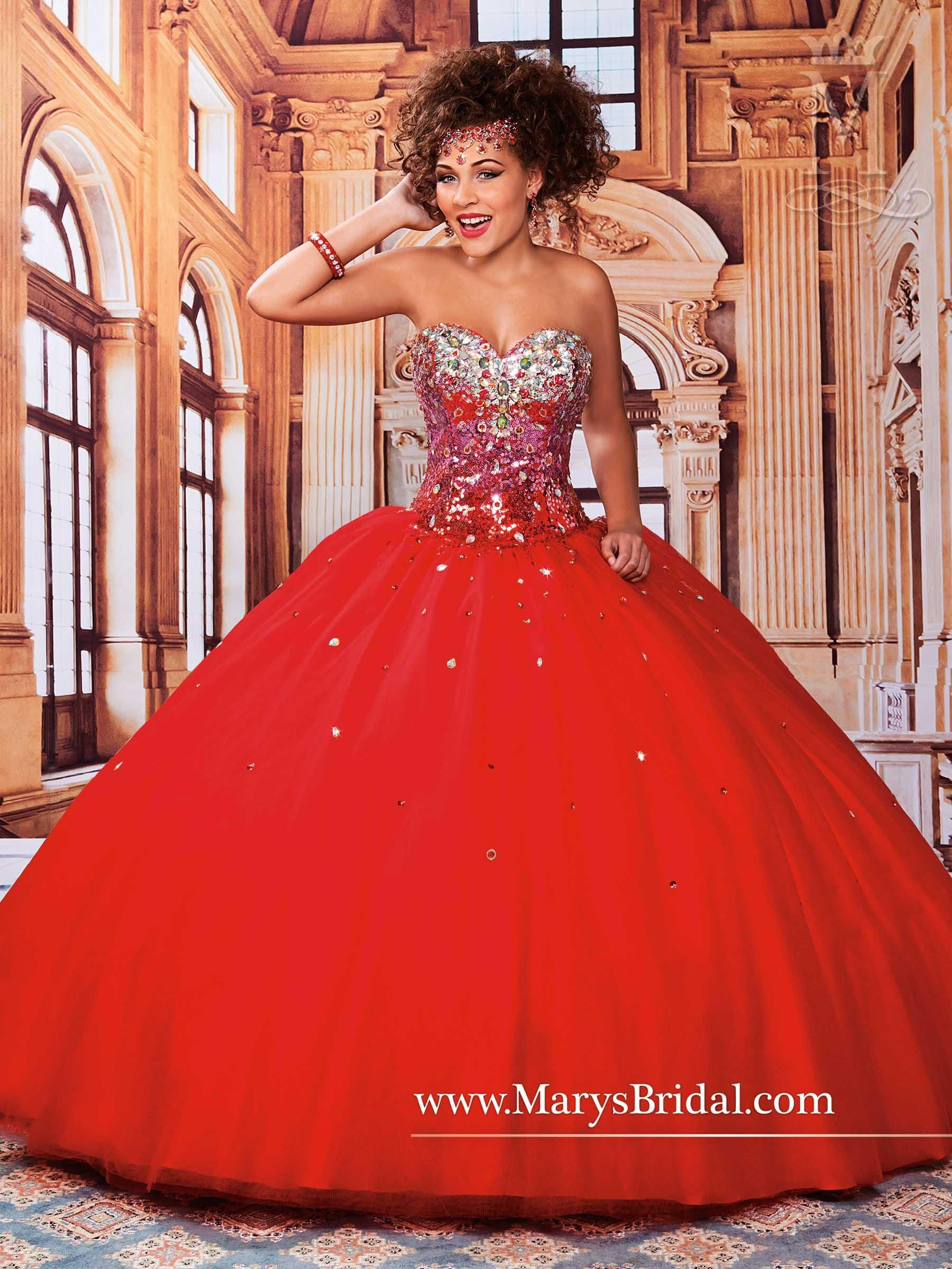 0986b38dde Mary s Purple Quinceanera Dresses 2015 Fall Sweetheart Neck Rhinestones  Sequins Tulle Ball Gown Prom Gowns with Lace Up Back Custom Made from ...