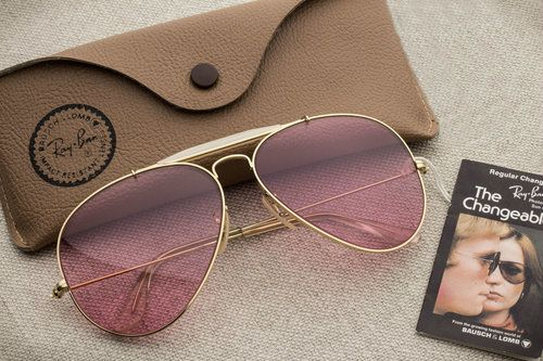 08ea41246 Ray Ban Outdoorsman Changeable Rose [62mm] | Beaturiful Vintage Ray ...
