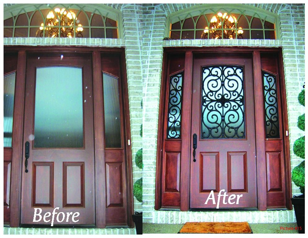 Faux Iron For Your Front Door By Budget Blinds Faux