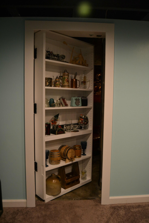 Imgur Secret door, Bookcase door, Bookshelf door