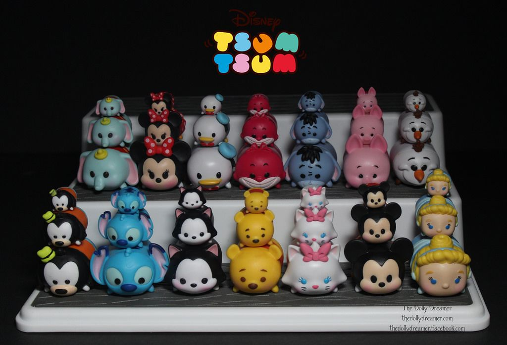 Disney Tsum Tsum Vinyl Figures Series 1 By Jakks Pacific