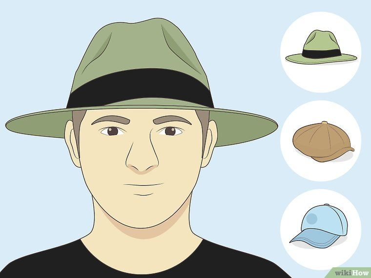 How To Choose Hats For Your Face Shape With Pictures Face Shapes Round Face Men Oblong Face Hairstyles