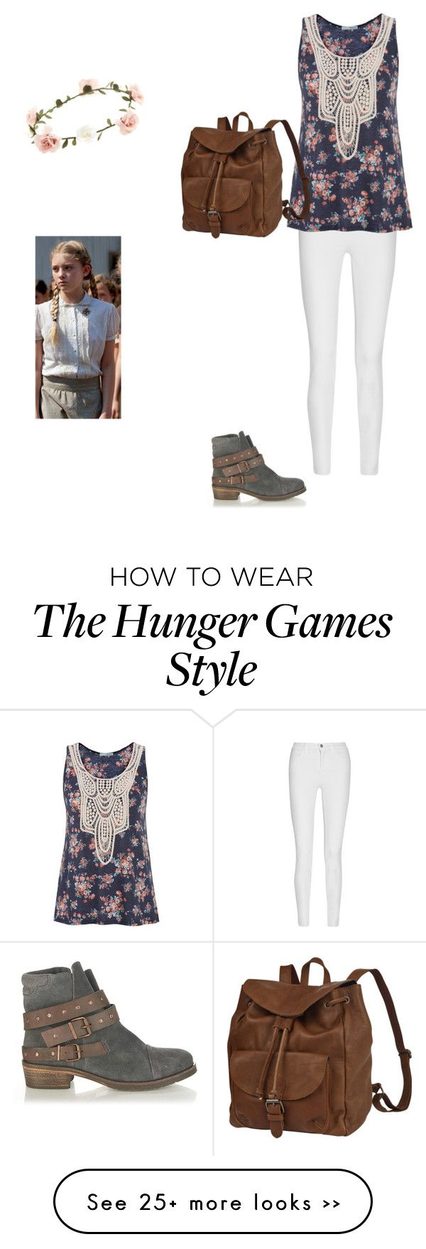 """""""Prim- Hunger Games"""" by ckruiswyk on Polyvore"""