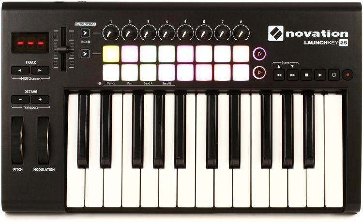 Novation Launchkey 25 Keyboard Controller | Music Equipment | Midi