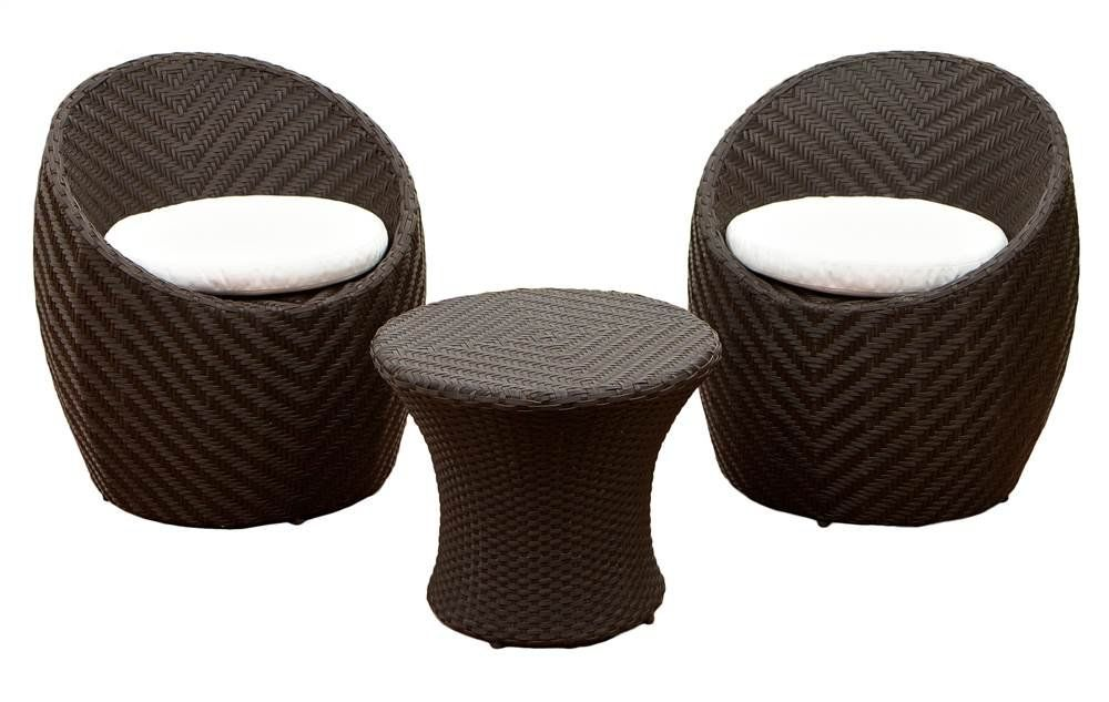 Best Ing Home Decor Siggers Modern Outdoor 3 Piece Chat