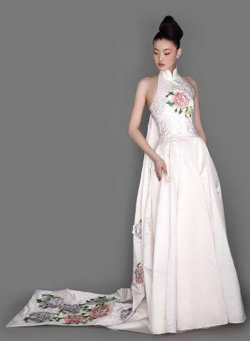 NE TIGER Spring Wedding Dress from fashionbridewordpress - weko k chen eching