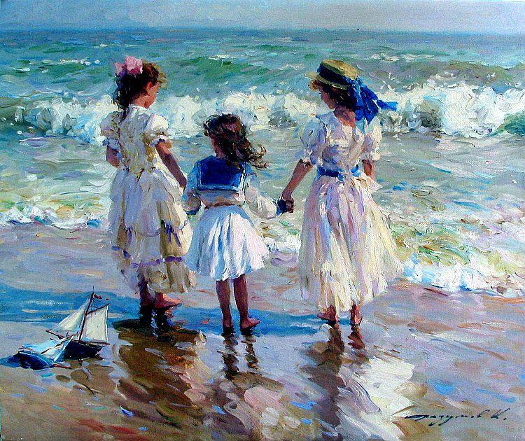 Neo Impressionism Artists: Original Art History I Love Art Russian Art Konstantin