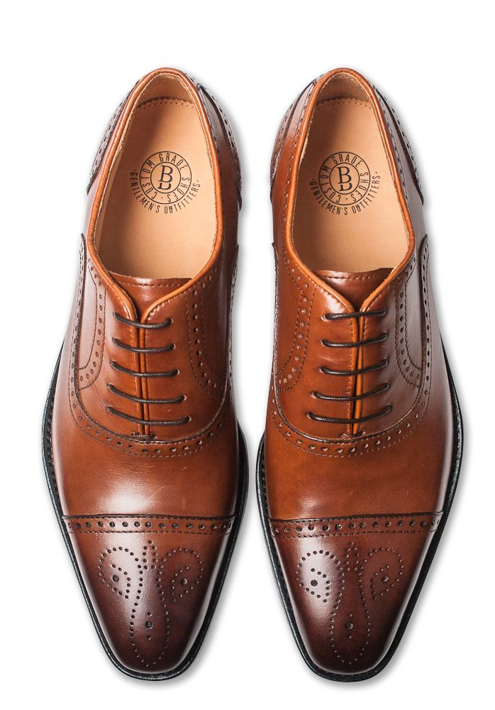 Classic Brogues #BenjaminBarker #Mens #Shoes - mens business shoes, mens  shoes size