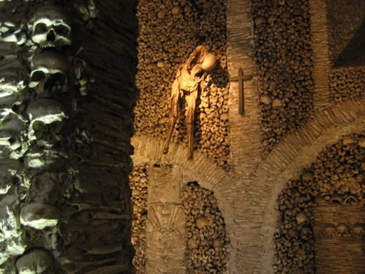 Portugal S Chapel Of Bones Chapel Places To Visit Cemeteries