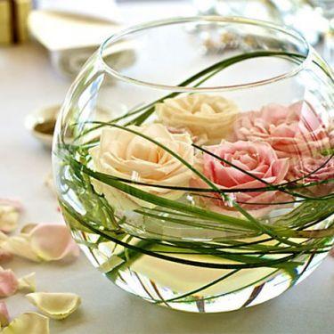 decoration mariage vase boule