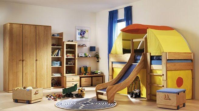 Camas divertidas para niños Habitaciones para niños Pinterest