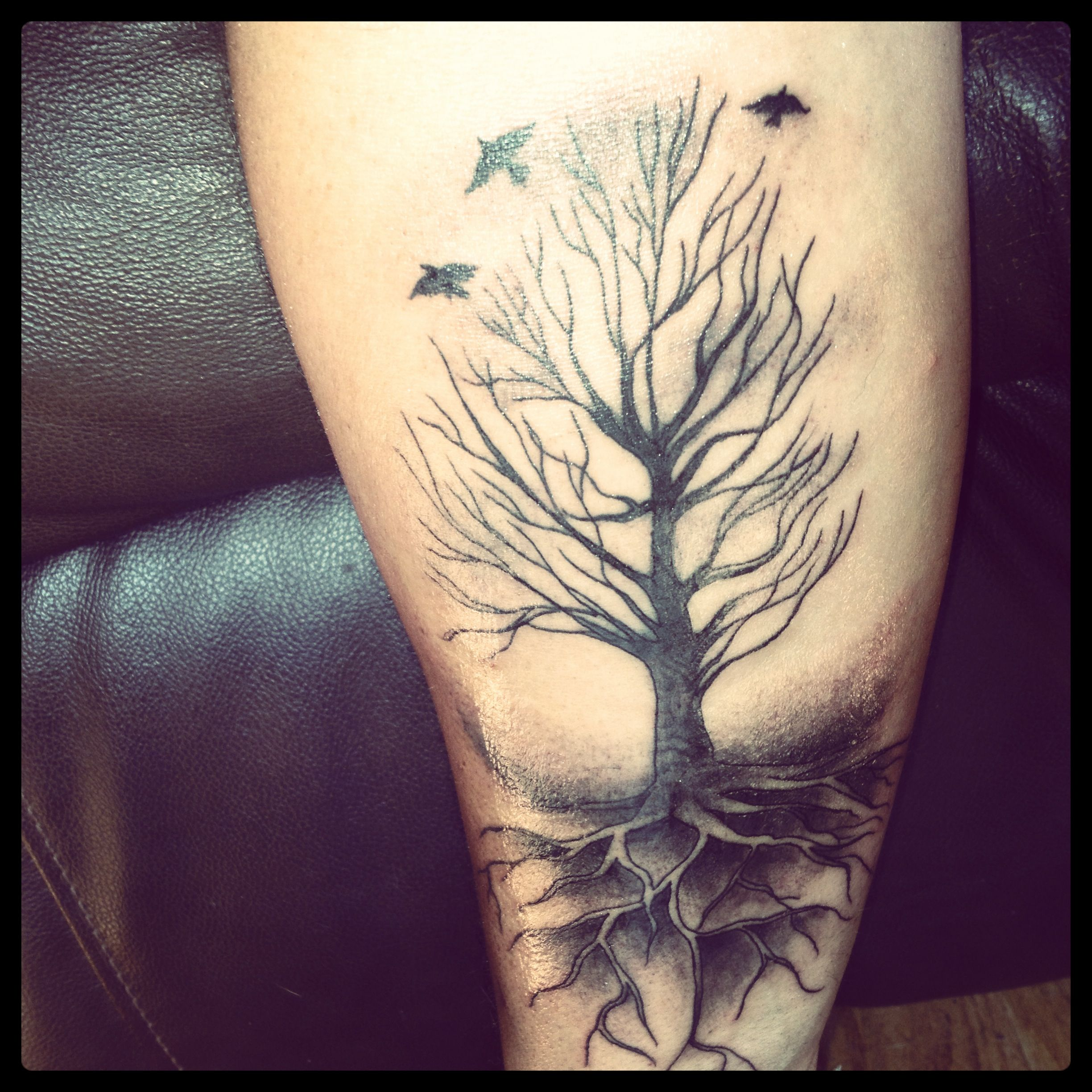 Tree Of Life Tattoo With Heart Roots: Life Tattoos, Sleeve Tattoos, Tattoos