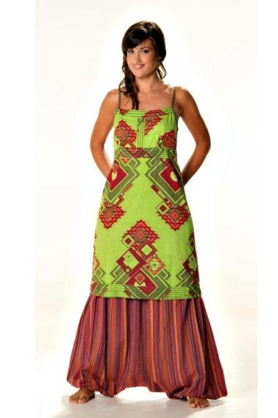 robe ethnique 608 robe baba cool femme a bretelles mode inspiration ethnique pinterest. Black Bedroom Furniture Sets. Home Design Ideas