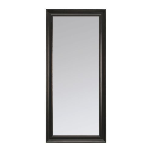 hemnes mirror black brown in 2019 for the home hemnes spiegel hemnes ganzk rperspiegel. Black Bedroom Furniture Sets. Home Design Ideas