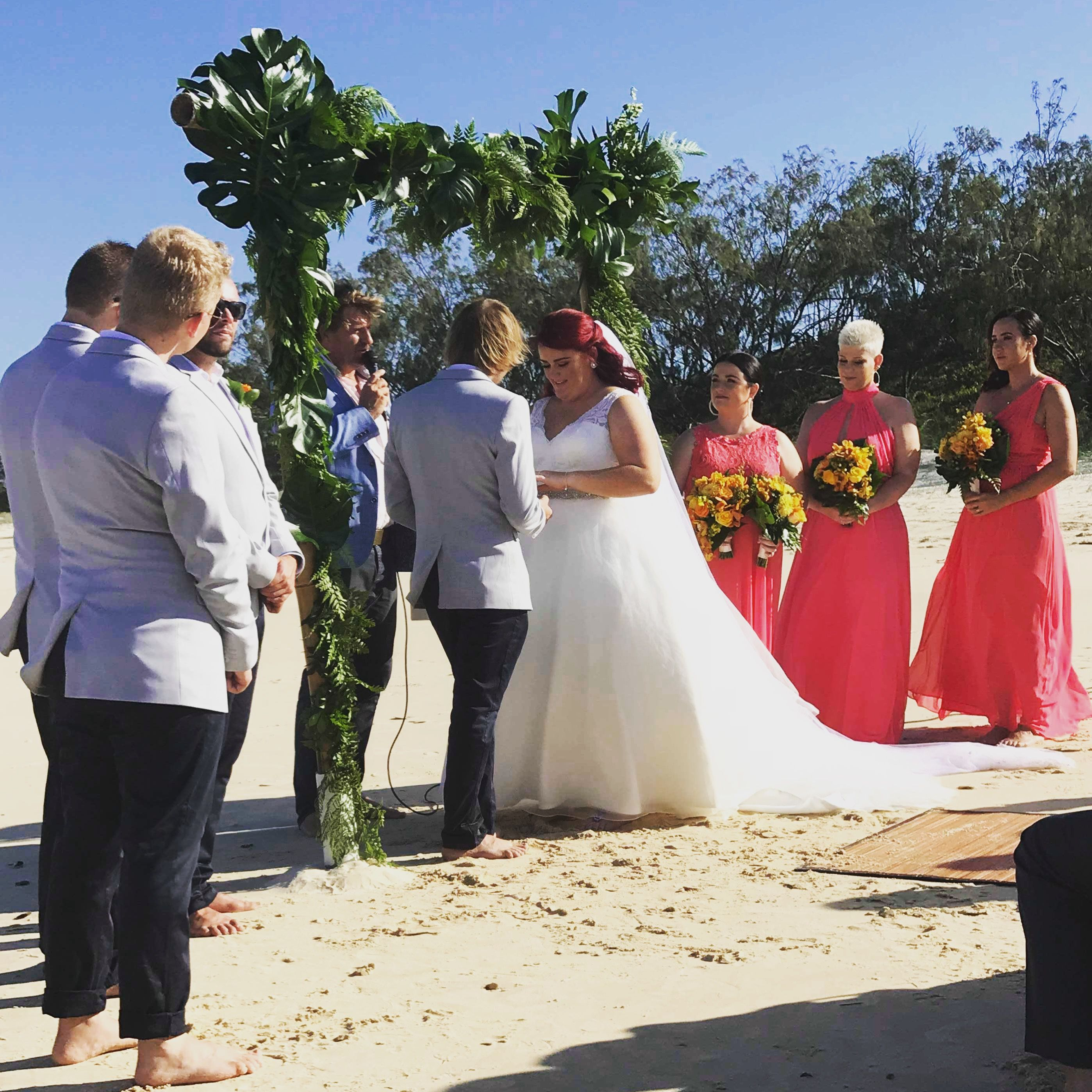 Beach wedding tropical arbor weddings pinterest arbors