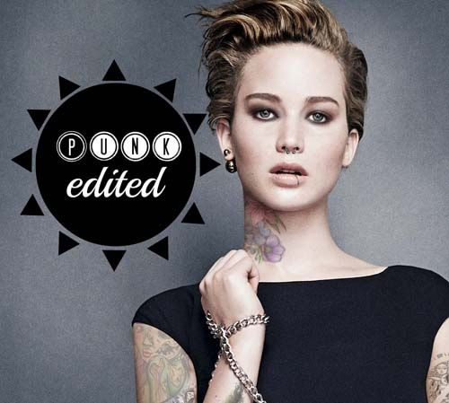 Love these from the Punk Edit Tumblr: Jennifer Lawrence ...