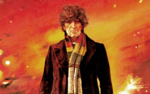 The 4th Doctor (dr who,tom baker,scarf,4th doctor)