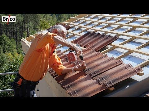 Isoler facilement la sous-toiture avec des panneaux de polystyrène - peindre un crepi exterieur