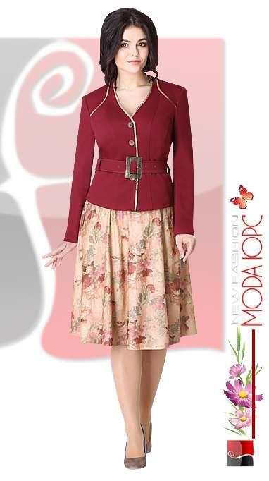 983e3f8b141 Платья и костюмы для полных женщин белорусской фирмы Мода-Юрс