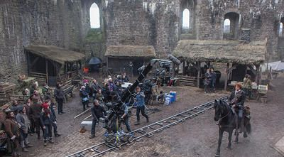 (video) - How Outlander Brought the Historic Doune Castle to Life, 29 May 2015
