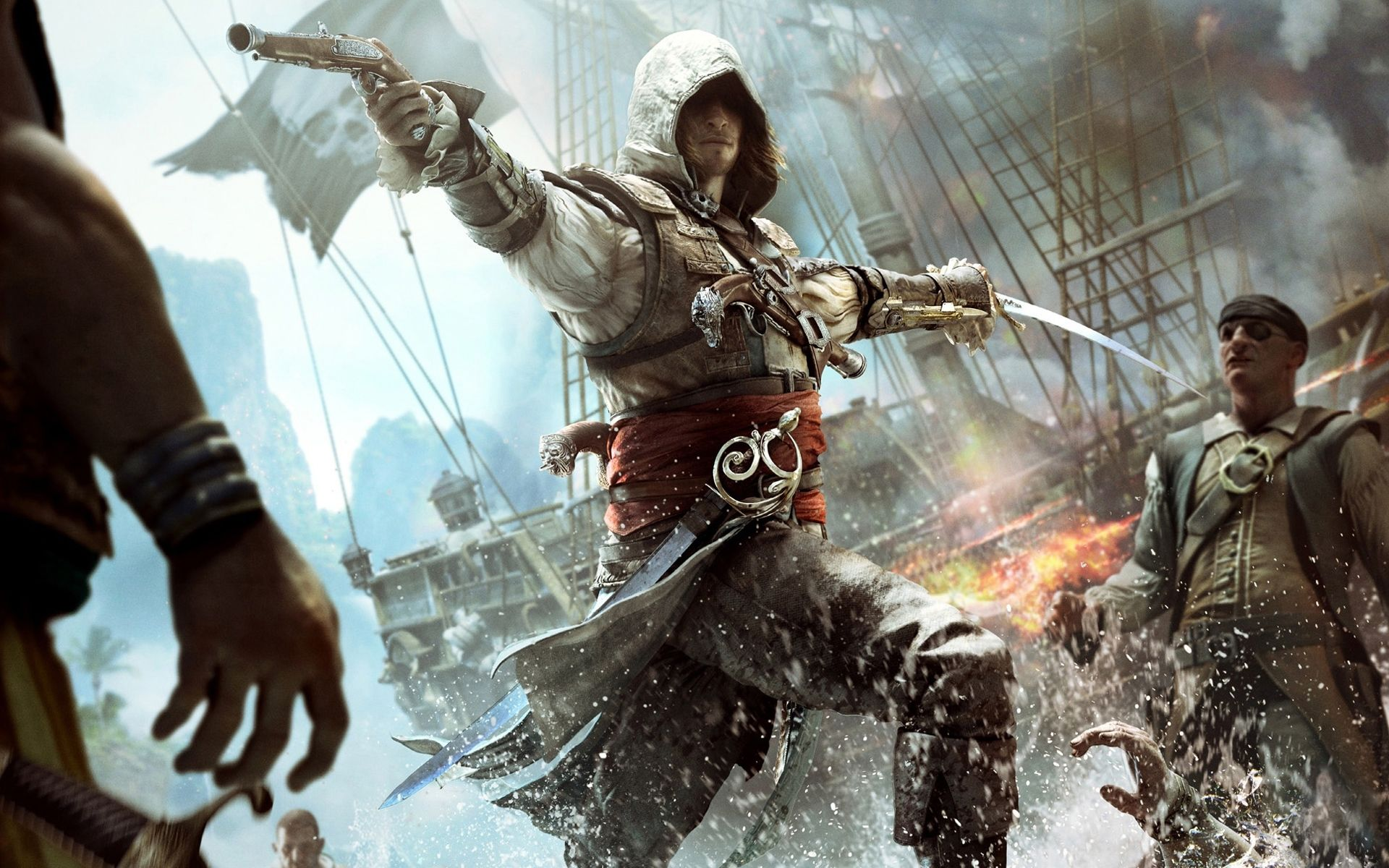 10 New Assassin Creed Black Flag Wallpaper Full Hd 1080p For Pc Background Assassin S Creed Black Assassins Creed Black Flag Assassins Creed 4