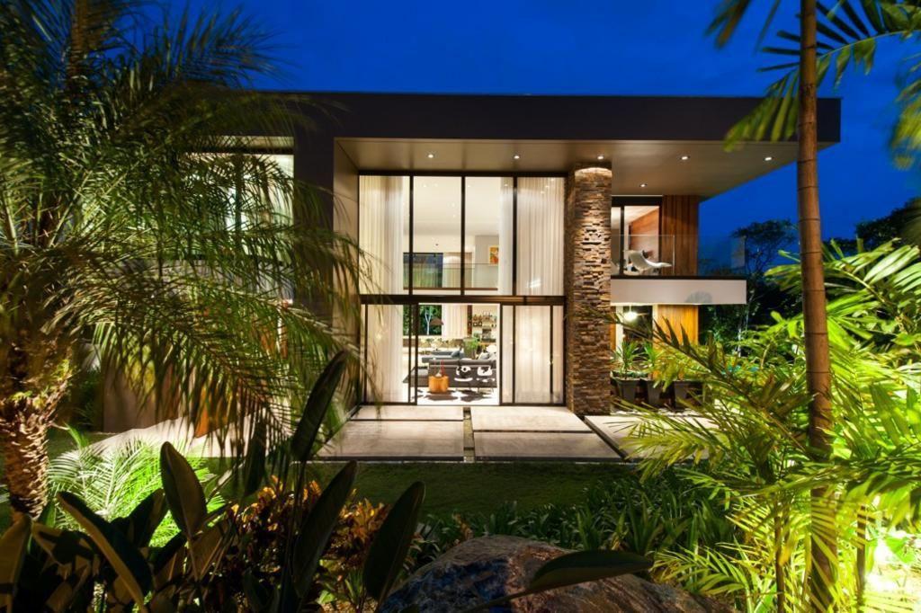 casas contemporaneas fachadas pequenas - Pesquisa Google PRAIA - fachadas contemporaneas