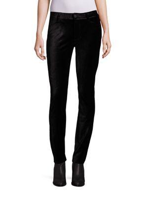 PAIGE Verdugo Super Skinny Velvet Pants. #paige #cloth #pants