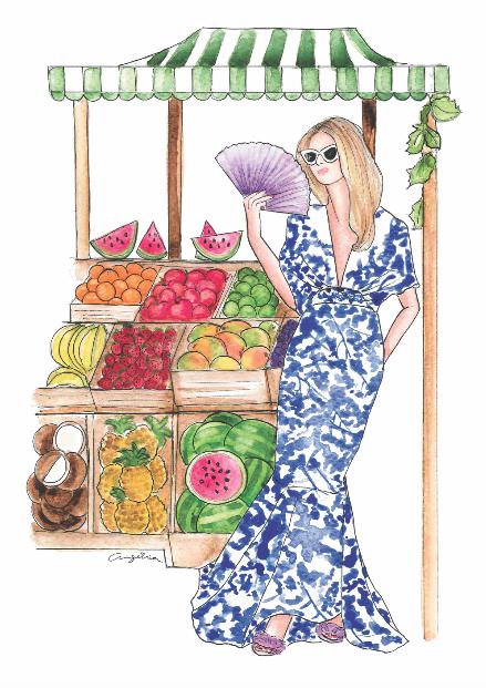Johanna Ortiz SS15 - ilustración de moda - fashion illustration