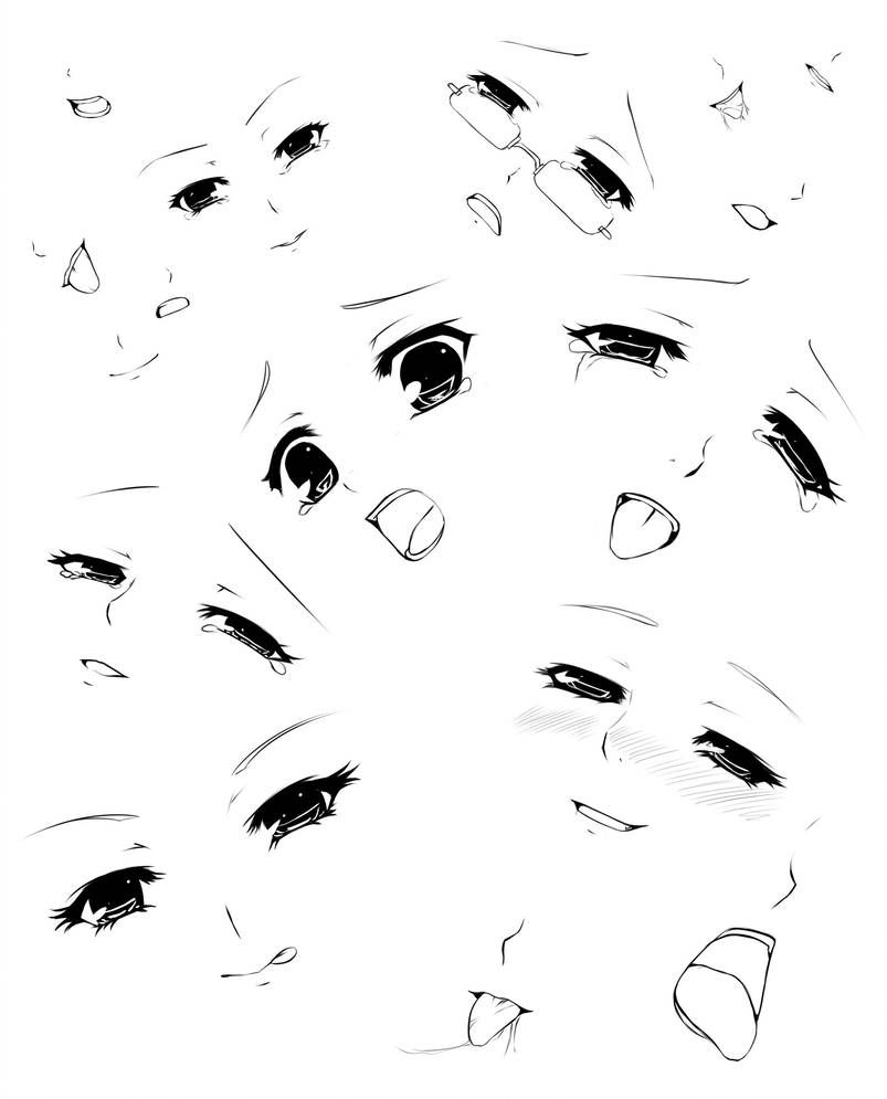 Expressions And Mouths By Forgotten Wings Anime Faces Expressions Anime Mouth Drawing Anime Eye Drawing