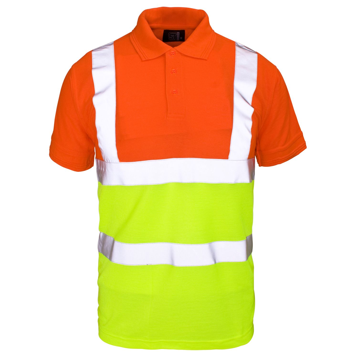 9eb6f790d Two Tone Safety Polo Shirts | Top Mode Depot
