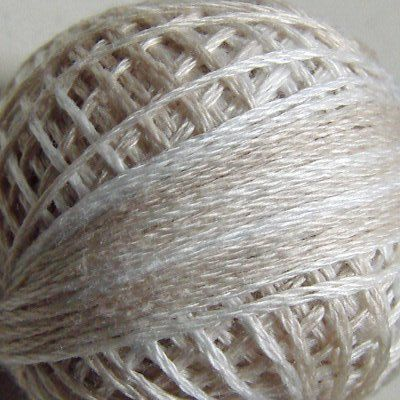 VALDANI Size 12 - M49 Subtle Elegance, Pearl Cotton, Variegated Color, Hand Dyed Thread, 109 Yard Cotton Ball  *Exceptionally beautiful perle