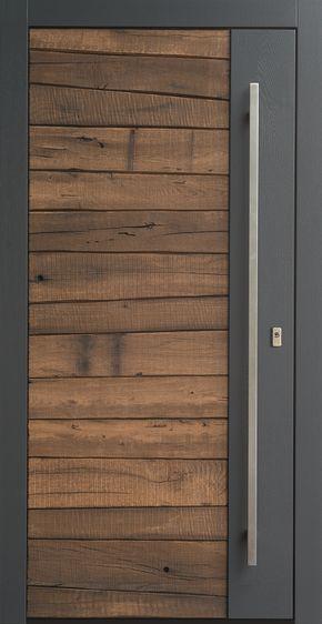 Photo of Front doors made of wood | KOWA