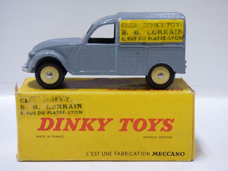 ToysLa Dinky De Citroën Nombre 2cv Collectionneurs Pour 6ybgf7