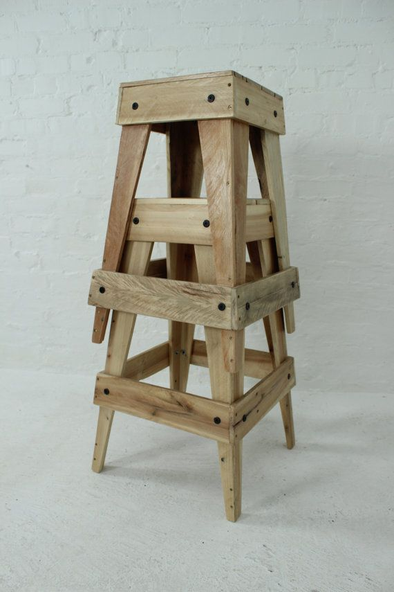 Nesting Pallet Stools … | Stool in 2019 | Pallet stool ...