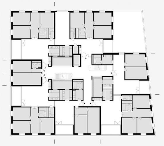 Mehr als wohnen baugenossenschaft z rich haus i for Wohnung design studium