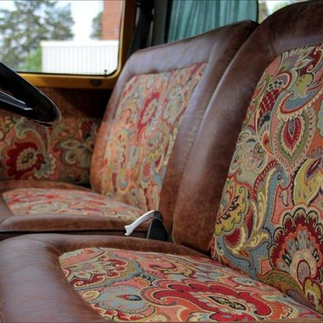 front seats early bay campervan