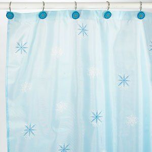 Shower Curtain And Hook Set Includes Printed Shower