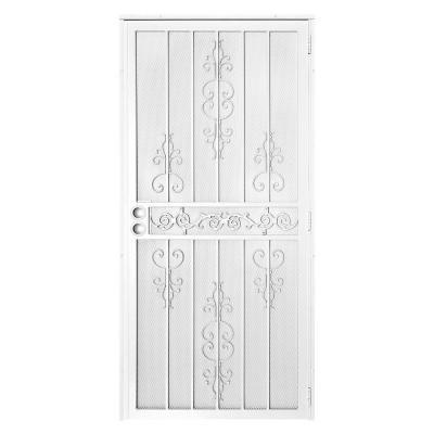 Unique Home Designs 36 in. x 80 in. El Dorado White ...
